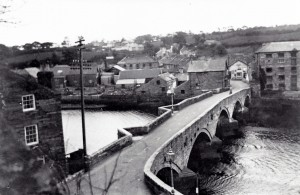 Cardigan Bridge in 1940 (Glen Johnson Collection)