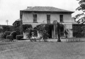 Castle Green House in 1938 (Glen Johnson Collection)