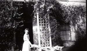 Mrs Gladys Wood, Castle Green House, 1940's (Glen Johnson Collection)