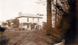 Barbara Wood bought Castle Green House in 1940 - it was then in good repair.