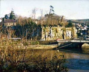 The outer walls in 1986