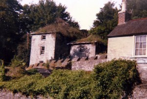Seen from Carrier's Lane is John Bowen's East Wing and Ty'r Ardd of ca.1805-08