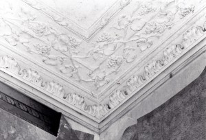 Dining Room cornice, September 2003 (c) Glen K Johnson