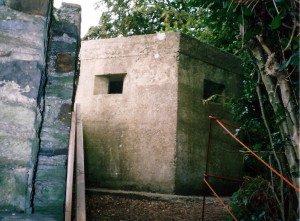 The pill-box in 2004 (c) Glen K Johnson