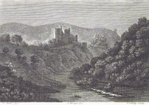 Cilgerran Castle by J Hooper, 13/04/1778 (Glen Johnson Collection)