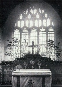 E Window in 1907 (Glen Johnson Collection)