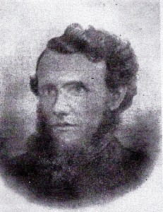 Rev. Evan Thomas, Minister of Bethania 1863-75 (Glen Johnson Collection)