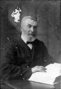 Rev. John Williams, Minister of Bethania 1880-1929 (Glen Johnson Collection)