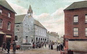 Guildhall in 1906, by Tom Desmond