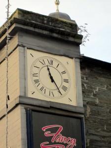 The 1844 Shire Hall clock, 21/12/2012 (c) Glen K Johnson