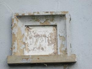 '1791' date-stone, Llwynadda Chapel (c) Glen K Johnson
