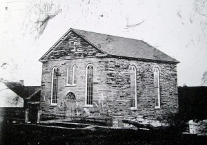 Penuel Chapel, Cilgerran, ca. 1870 (Glen Johnson Collection)
