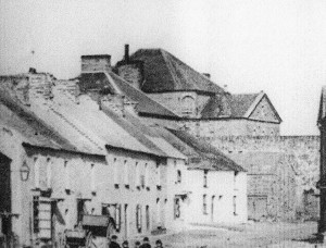 Cardigan Gaol from Pendre, circa 1869 (Glen Johnson Collection)