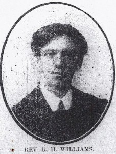 Rev. R. H. Williams, Tyrhos, 1914 (Cardigan & Tivy-Side Advertiser)