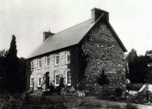 The Vicarage in the 1890's (Glen Johnson Collection)
