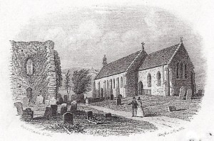 The church in 1861 (Glen Johnson Collection)
