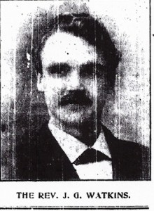 Rev. J. Glandwr Watkins 1908 (Cardigan & Tivy-Side Advertiser)
