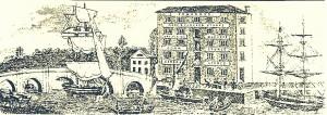 Bill-head showing Bridge Warehouse, 1870's (Glen Johnson Collection)