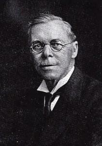 Rev. J. Arthur Jones, Minister of Mount Zion Chapel (Glen Johnson Collection)