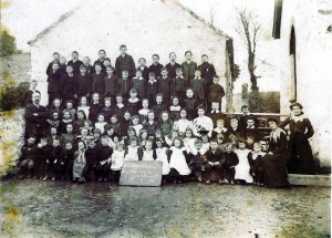 St. Dogmaels National School, 17/03/1905 (St. Dogmaels Community Archive)