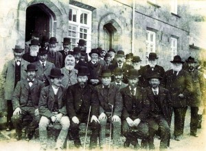 The Master and Guardians at the Workhouse circa 1900 (Mary Thomas Collection)