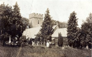 St. Llawddog's circa 1906 (Glen Johnson Collection)