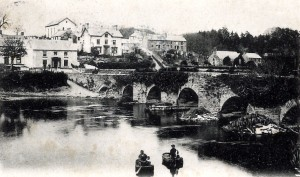 Llechryd Bridge in 1903 (Glen Johnson Collection)
