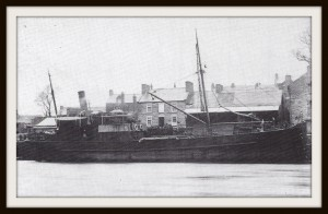 S. S. St. Tudwal at Cambrian Quay ca1913 (Glen Johnson Collection)