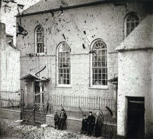 Tabernacle Chapel ca 1880 (Glen Johnson Collection)