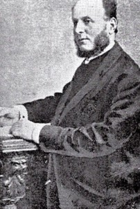 Rev. Griffith Davies, Minister of Tabernacl (Glen Johnson Collection)