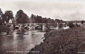 Llechryd Bridge circa 1938 (Glen Johnson Collection)