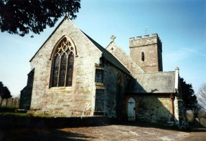 The church in April 2000 (c) Glen K Johnson