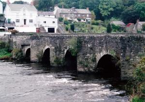 Llechryd Bridge in 2009 (c) Cath Lloyd