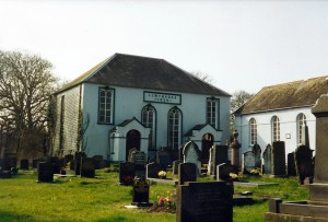 Llwynadda Chapel in March 2000 (c) Glen K Johnson