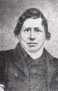 Rev. Daniel Davies, Minister of Capel Mair (Glen Johnson Collection)
