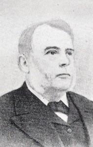 Rev. T. J. Morris, Minister of Capel Mair 1876-1908 (Glen Johnson Collection)