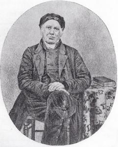 Rev. Thomas Rhys Davies,Cilgerran Baptist Minister 1835-50