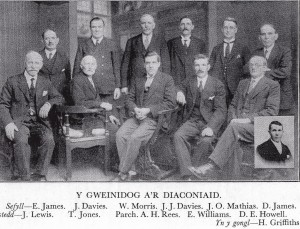 Minister & Deacons of Penuel in 1935 (Glen Johnson Collection)
