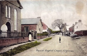 Penuel Vestry from old Postcard (Glen Johnson Collection)