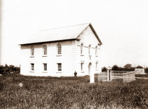 Tyrhos Chapel circa 1900 (Glen Johnson Collection)