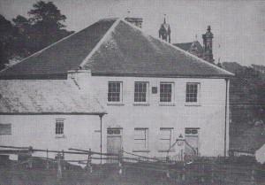 Old Capel Mair circa 1869 (Glen Johnson Collection)