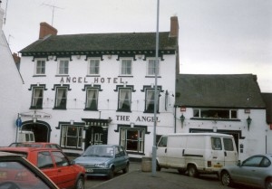The Angel Hotel in April 1997 (c) Glen K Johnson