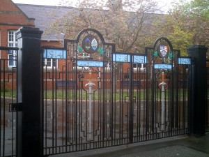 Memorial Gates in May 2012 (c) Glen K Johnson