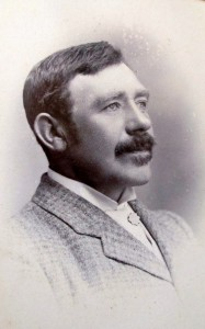 O. Beynon Evans, Mayor of Cardigan (Glen Johnson Collection)