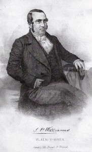 Rev. J P Williams, Minister of Blaenwaun 1848-61 (Glen Johnson Collection)
