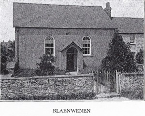 Blaenwenen Chapel circa 1930 (Glen Johnson Collection)
