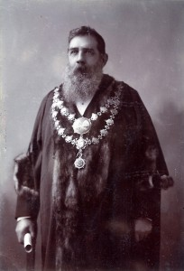 Captain T Howell Williams, Mayor of Cardigan, 1902 (Glen Johnson Collection)