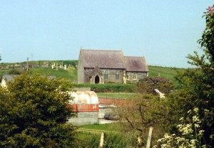 Ferwig Church in May 2000 (c) Glen K Johnson