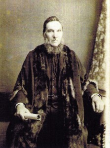 Robert E Rees, Mayor of Cardigan 1882 (Glen Johnson Collection)