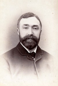 Dr. J M Phillips, Mayor of Cardigan, 1881 (Glen Johnson Collection)